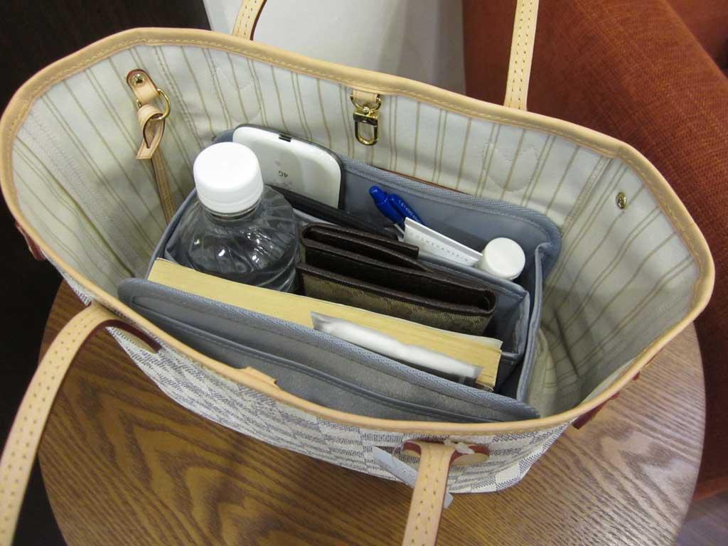 purse organizer insert for louis vuitton neverfull pm  photo