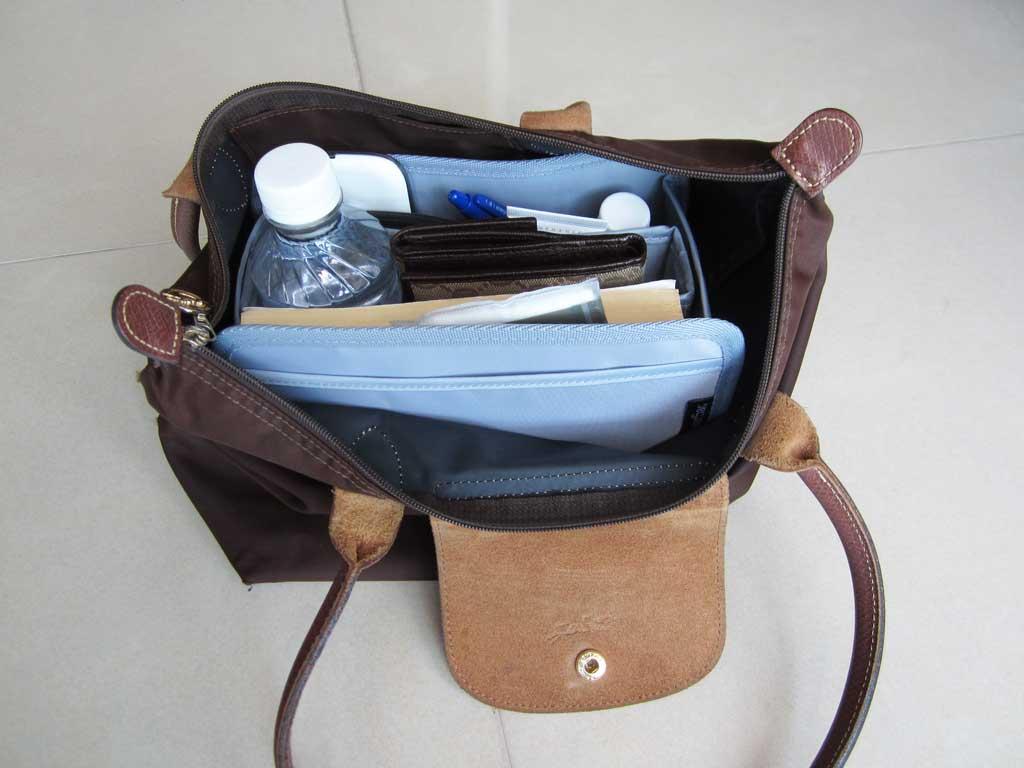 Purse-Organizer-Insert-for-Longchamp-Le-Pliage-Medium-Long-Handle-2605-1