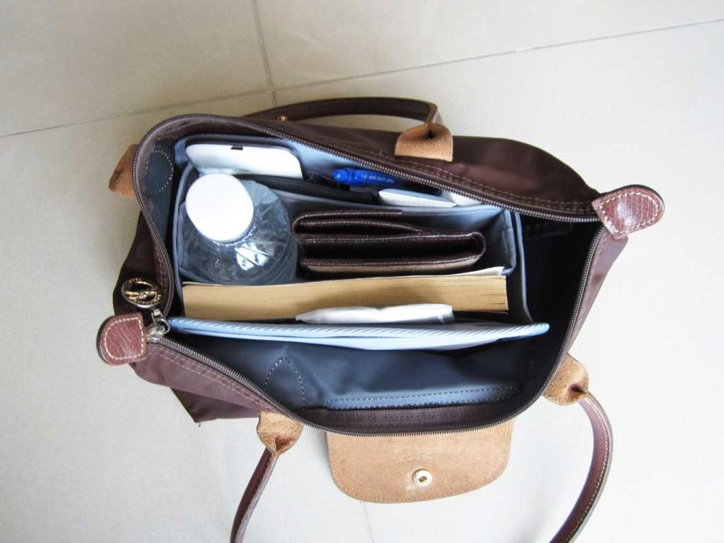 Purse-Organizer-Insert-for-Longchamp-Le-Pliage-Medium-Long-Handle-2605-2