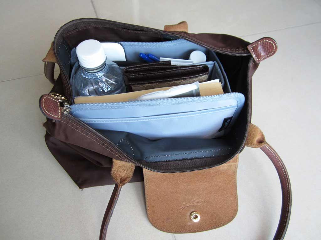 Purse-Organizer-Insert-for-Longchamp-Le-Pliage-Medium-Long-Handle-2605-3